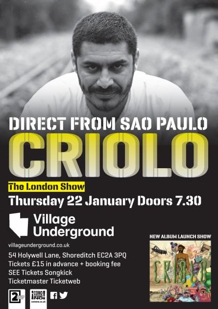 CrioloA6 Flyer
